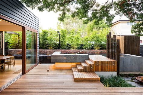 Contemporary Backyard Landscaping Ideas Family Modern Backyard Design For Outdoor Experiences To Come Freshome