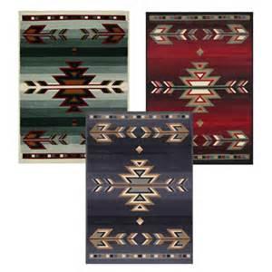 rustic southwestern 5x8 arrows lodge style cabin area rug