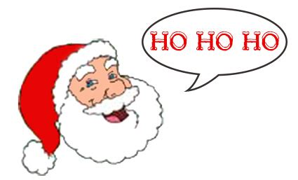 santa clipart ho ho ho pencil and in color santa clipart