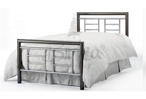 Chrome Bed Frames Birlea Montana Chrome And Nickel 3ft Single Metal Bed Frame By Birlea