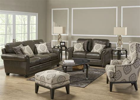 leather sofa with accent chairs 3 pc l r w accent chair living room sets