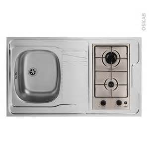 evier kitchenette gaz l100xp60 sokleo oskab
