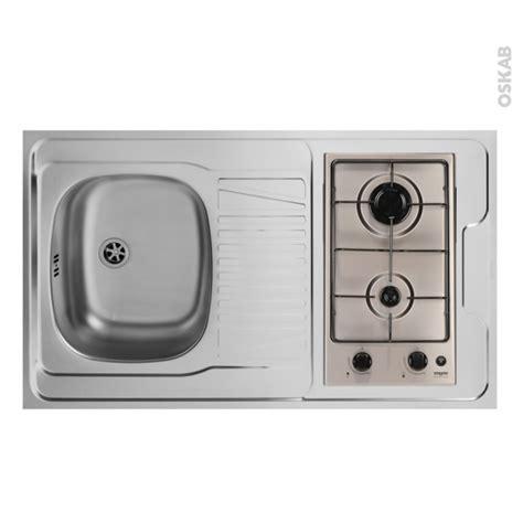bloc evier cuisine bloc 233 vier pour kitchenette plaque de cuisson gaz l100 x