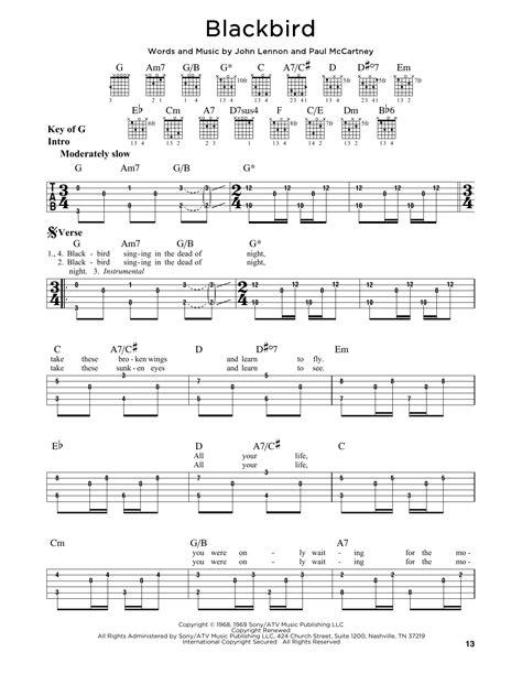 Funky Black Bird Chords Photos - Guitar Ukulele Piano music Chords ...