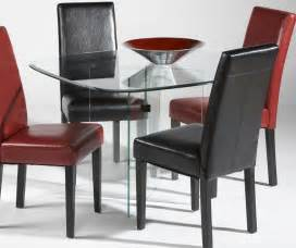 Glass Contemporary Dining Table Contemporary Glass Top Dining Tables Decosee