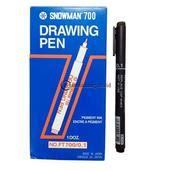 Snowman Drawing Pen 0 5 Mm jual alat tulis kantor atk grosir dan murah