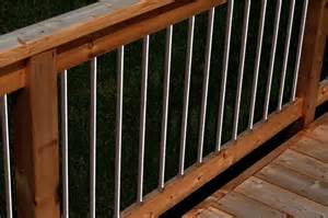 Aluminum Railing Balusters Deck Impressions Lighted Aluminum Balusters