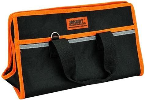 Jakemy Synthetic Leather Tool Storage Waist Bag With Jm B04 jakemy professional portable tool bag medium set jm b02 jakartanotebook
