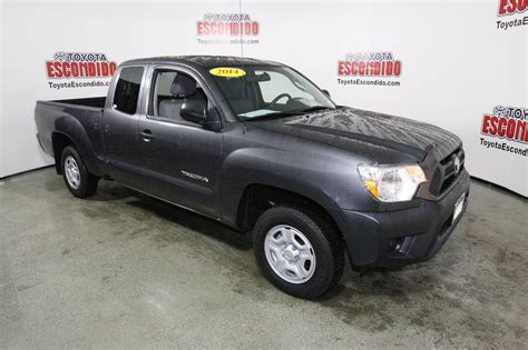 Pre Owned Toyota Tacoma Certified Pre Owned 2014 Toyota Tacoma Extended Cab