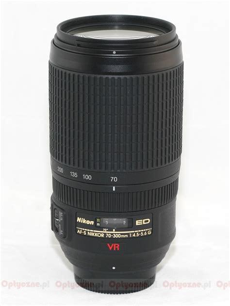 Lensa Nikon Af 70 300 G nikon nikkor af s 70 300 mm f 4 5 5 6g if ed vr review pictures and parameters lenstip