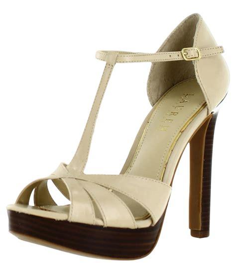 beige dress shoes ralph polo freida womens dress shoes heels beige