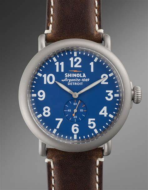 detroit based shinola releases new limited edition runwell