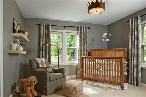 Light Gray Crib by Feng Shui Your Small Space