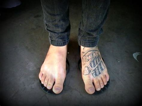 mens foot tattoos foot tattoos and tattoos and on
