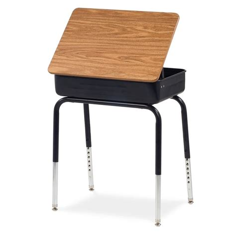 Virco Lift Lid School Desk 751 On Sale Now School Student Desk