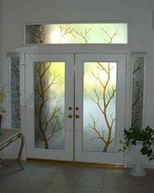exterior door with window entry glass sans soucie glass