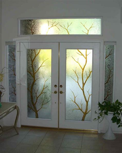 Glass Front Doors For Homes Front Doors For Homes With Windows Entry Glass Coordinated Etched Glass Doors Windows
