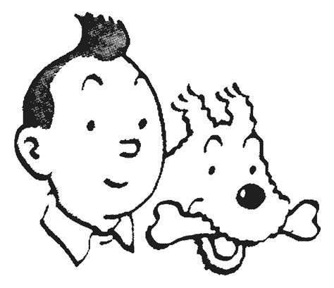 tintin coloring pages coloring pages to print