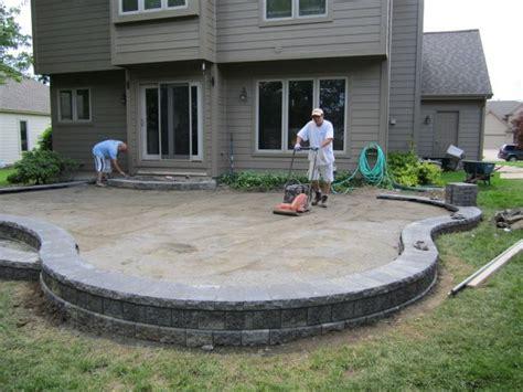 raised paver patio cost brick pavers canton plymouth