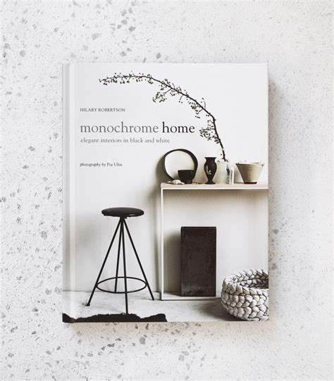 monochrome home book partridgedesign
