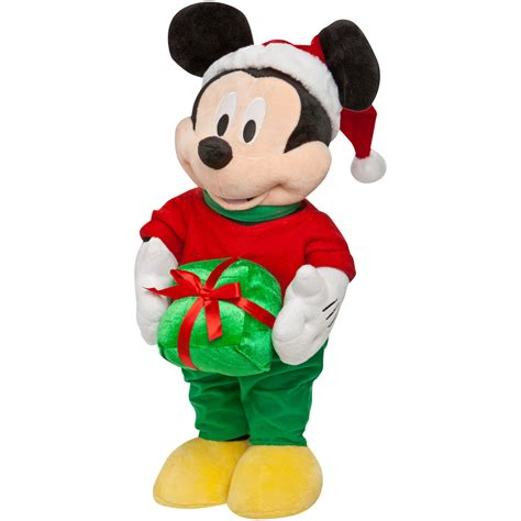 shop gemmy freestanding mickey mouse indoor christmas