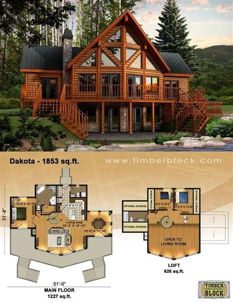 Log Home Home Inspiration Sources Mountain Log House Plans
