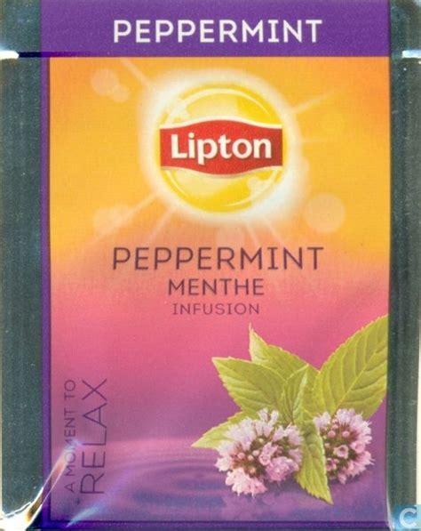 Teh Lipton Peppermint peppermint lipton catawiki