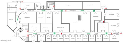 supermarket layout drawings supermarket floor plan exles and templates