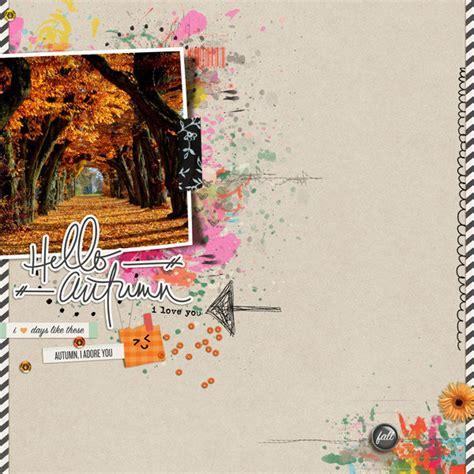 layout hello autumn
