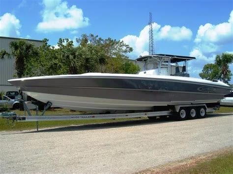 center console boats for sale europe 2008 nor tech 4300 v center console power boat for sale
