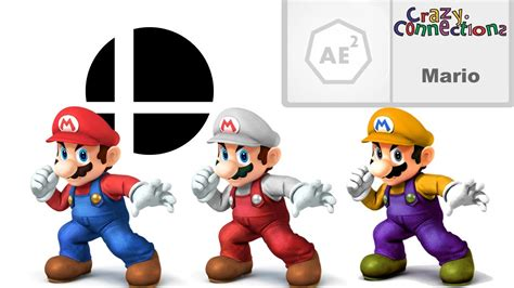 mario colors the history and origins of mario s colors in smash bros
