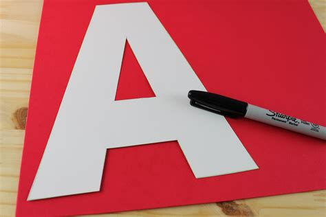 Letter A Craft - A is for Apple - The Best Ideas for Kids A