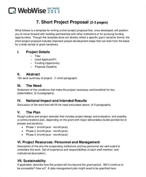 format of project proposal in school 34 simple proposal formats exles pdf doc