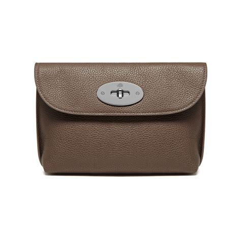 Mulberry Locked Purse by Lyst Mulberry Locked Cosmetic Purse In Brown