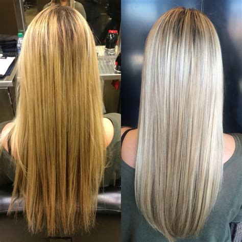 aveda institute dallas reviews hair highlights colorcorrection highlights lowlights ash toner aveda