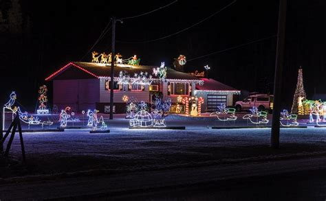 christmas light displays in prince george