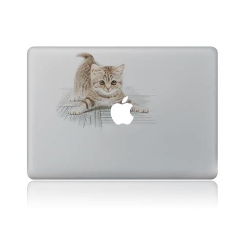 Sticker Macbook Pro And Air Be To Animals Rina Shop cat vinyl decal laptop sticker for macbook pro air 13