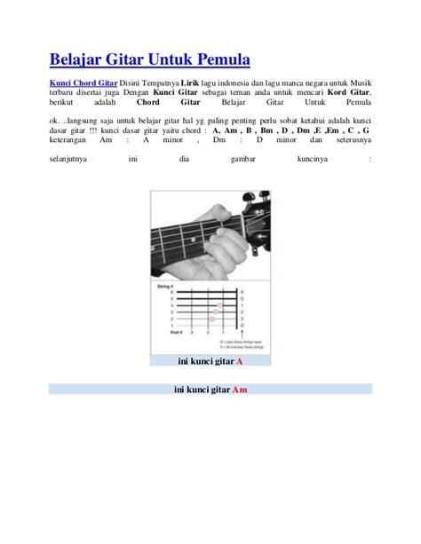 download tutorial belajar gitar bagi pemula belajar gitar untuk pemula