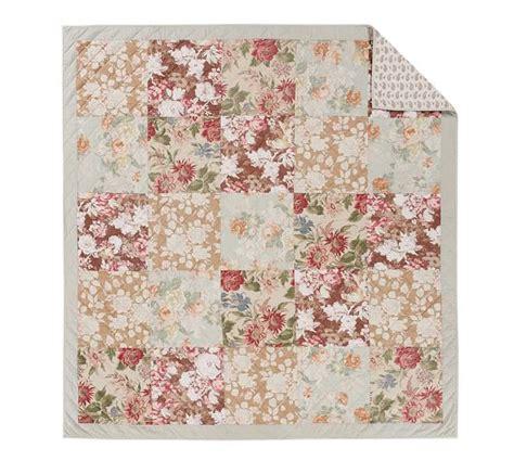 Floral Patchwork Quilt - carolina floral patchwork reversible quilt sham