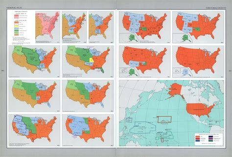 us map timeline documents for the study of american history us history