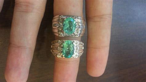 Batu Zamrud Air Kaca 18145891 permata murah sokmo cincin permata zamrud colombia asli