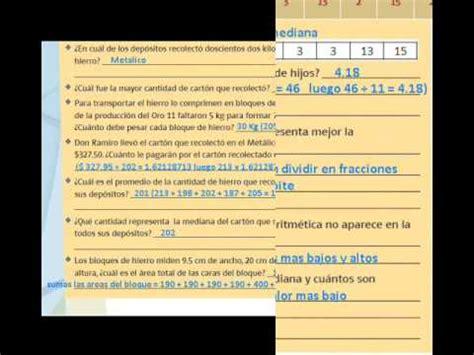 leccion 39 matematicas sep 6to grado parte 1 youtube respuestas de matematicas 6 grado 2016 matematicas de
