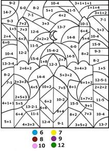 Math Coloring Pages By Number 343 Color By Number For Printable Math Coloring Pages
