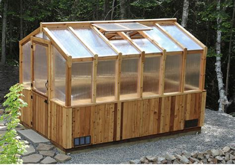outdoor living today 8x12 cedar greenhouse epic sheds