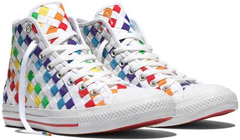 Converse Rainbow converse releases rainbow filled pride sneakers da