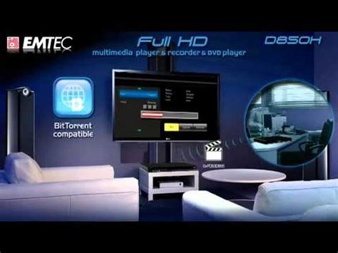 emtec movie cube d850h full hd youtube
