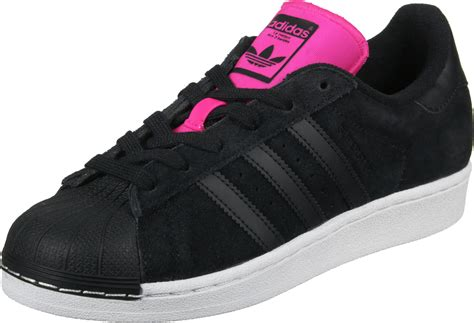Adidas Berlin Shoes Pink by Adidas Superstar W Shoes Black Pink White