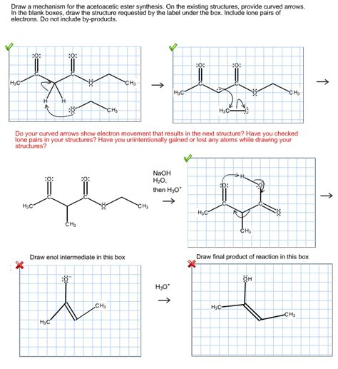 doodle how to make mechanism draw a mechanism for the acetoacetic ester synthes