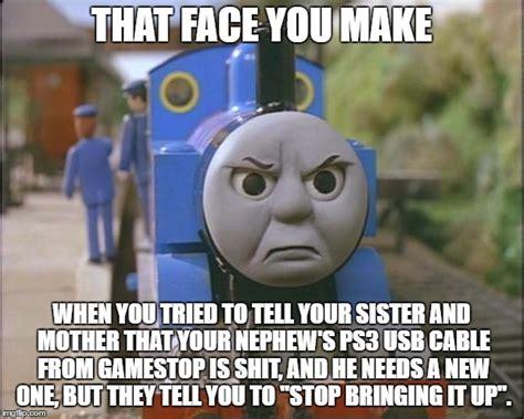 Thomas The Tank Engine Face Meme - thomas imgflip