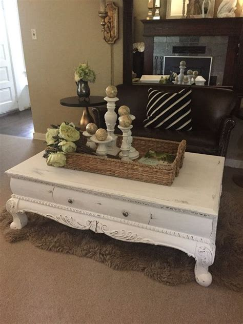 painting a table white 17 best ideas about painted coffee tables on